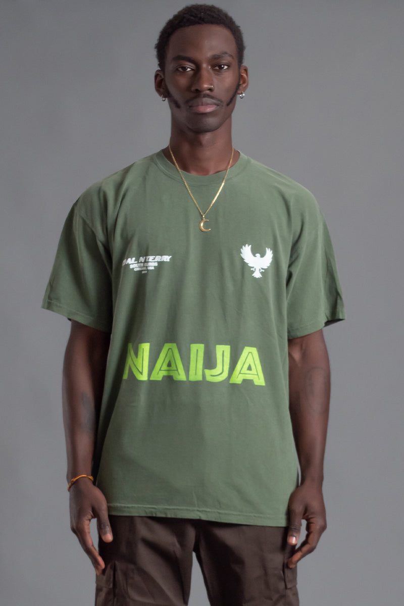 GUYS HEMP TEAM NAIJA TEE