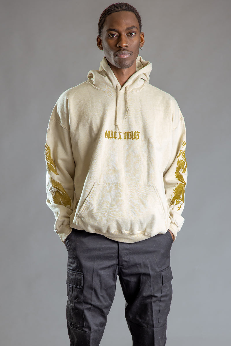 GUYS SAND N GOLD MINI MEDI DRAGON HOODIE