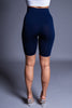 BIKER SHORTS - NAVY BLUE