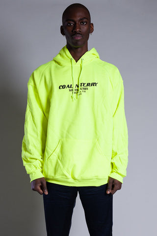 Green N Orange Burbs Hoodie- Camo