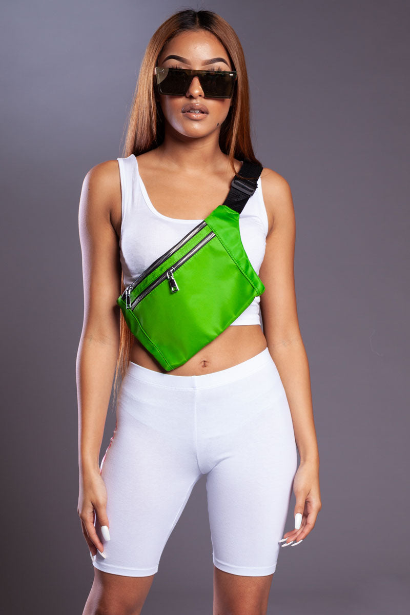 MINI MEDI FANNY PACK - GREEN