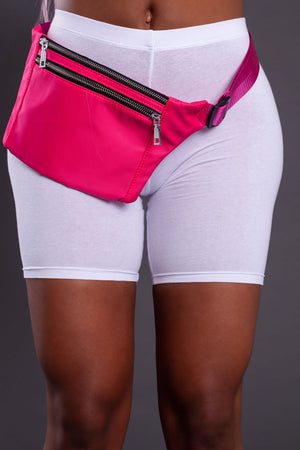 MINI MEDI FANNY PACK - PINK