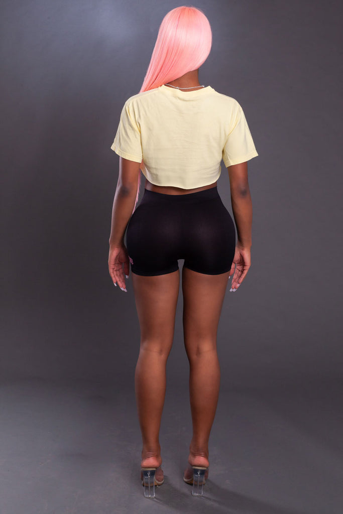 CNT MOLLY CROP - YELLOW