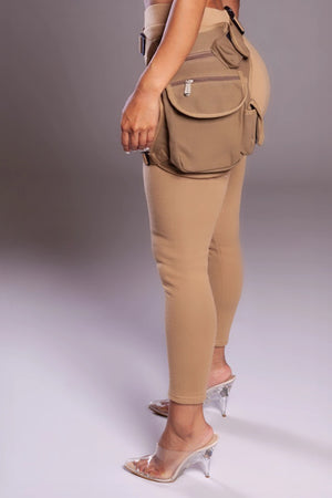MINI MEDI LEG BAG - SAND