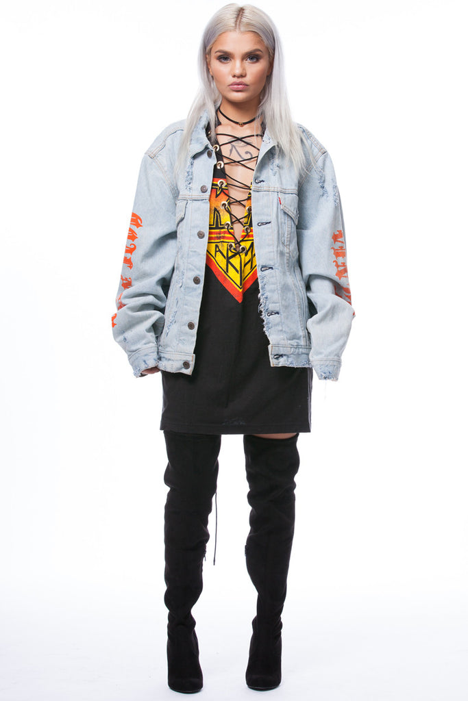 CNT Trap Denim Jacket