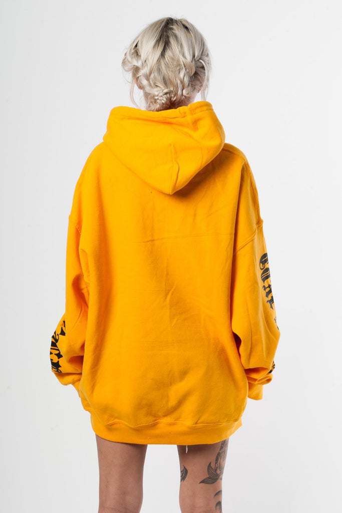 Yellow N Black Trap Hoodie