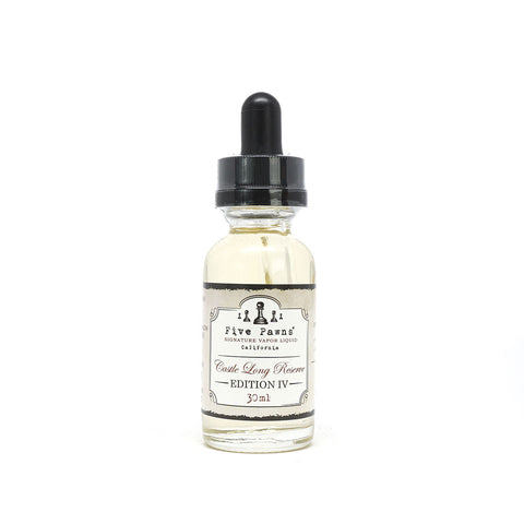Castle Long Reserve - e-Liquid - Five Pawns - revolution vapor - 1