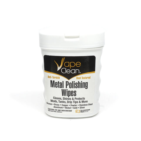 Vape Clean Metal Polishing Wipes - Accessories - Tools & Supplies - revolution vapor