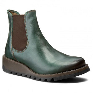 Fly Salv petrol Chelsea boot - Imeldas Shoes Norwich