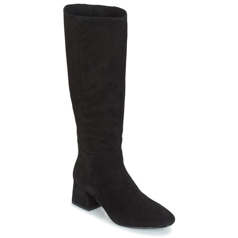 ALICE Black Suede Tall Boots