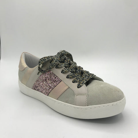 Meline Pink/Beige Trainer - Imeldas Shoes Norwich