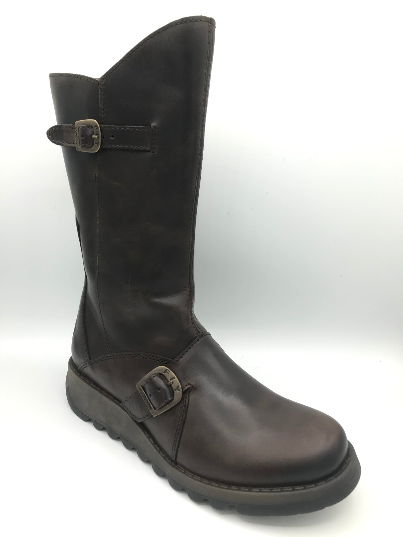 Mes 2 Brown Leather Boot - Imeldas Shoes Norwich
