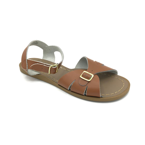 Tan Classic Sandals - Imeldas Shoes Norwich