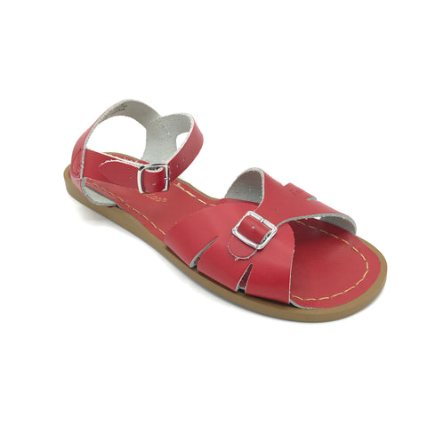 Red Classic Sandals - Imeldas Shoes Norwich