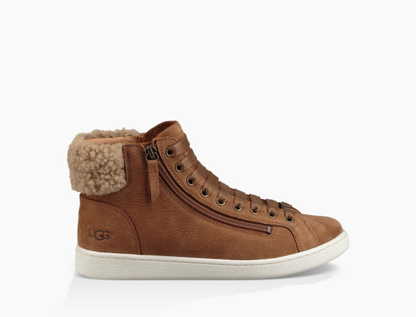 Ugg Chestnut Leather Trainer