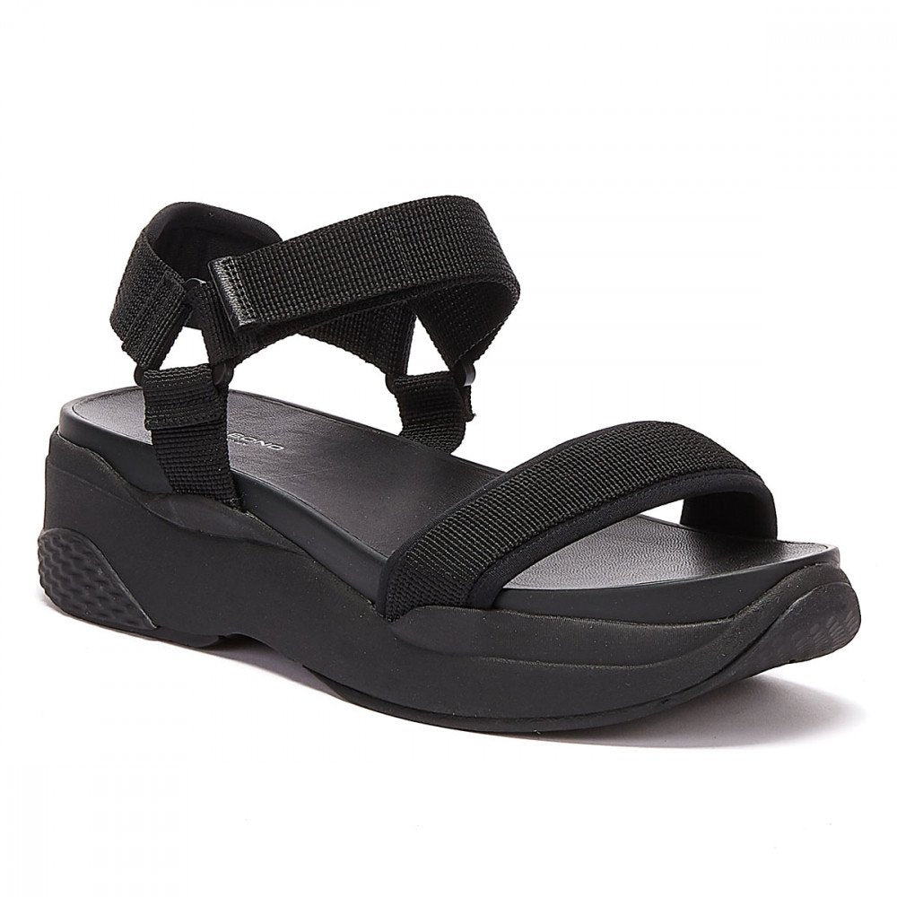 Vagabond Lori Black Sandal - Imeldas Shoes Norwich