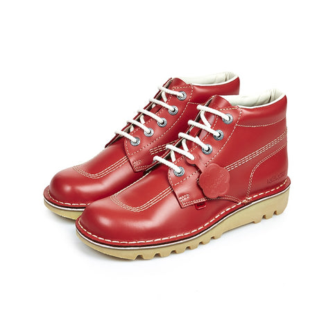 Kick Hi Classic Red - Imeldas Shoes Norwich