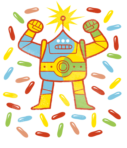 Robot Candy Dance Party