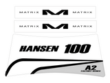 MATRIX A2 / A2M STAND DECALS | FACTORY