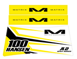 MATRIX A2 / A2M STAND DECALS | APEX