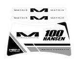 MATRIX M64 STAND DECALS | VISION