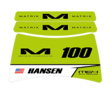 MATRIX M64 STAND DECALS | EVO