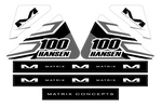 MATRIX M3 FUEL CAN DECALS | APEX
