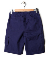 Load image into Gallery viewer, Boys Blue Cargo Shorts