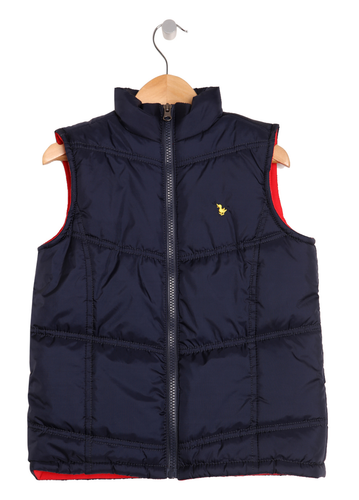 Blue Sleeveless Jacket (Blue Gilet)