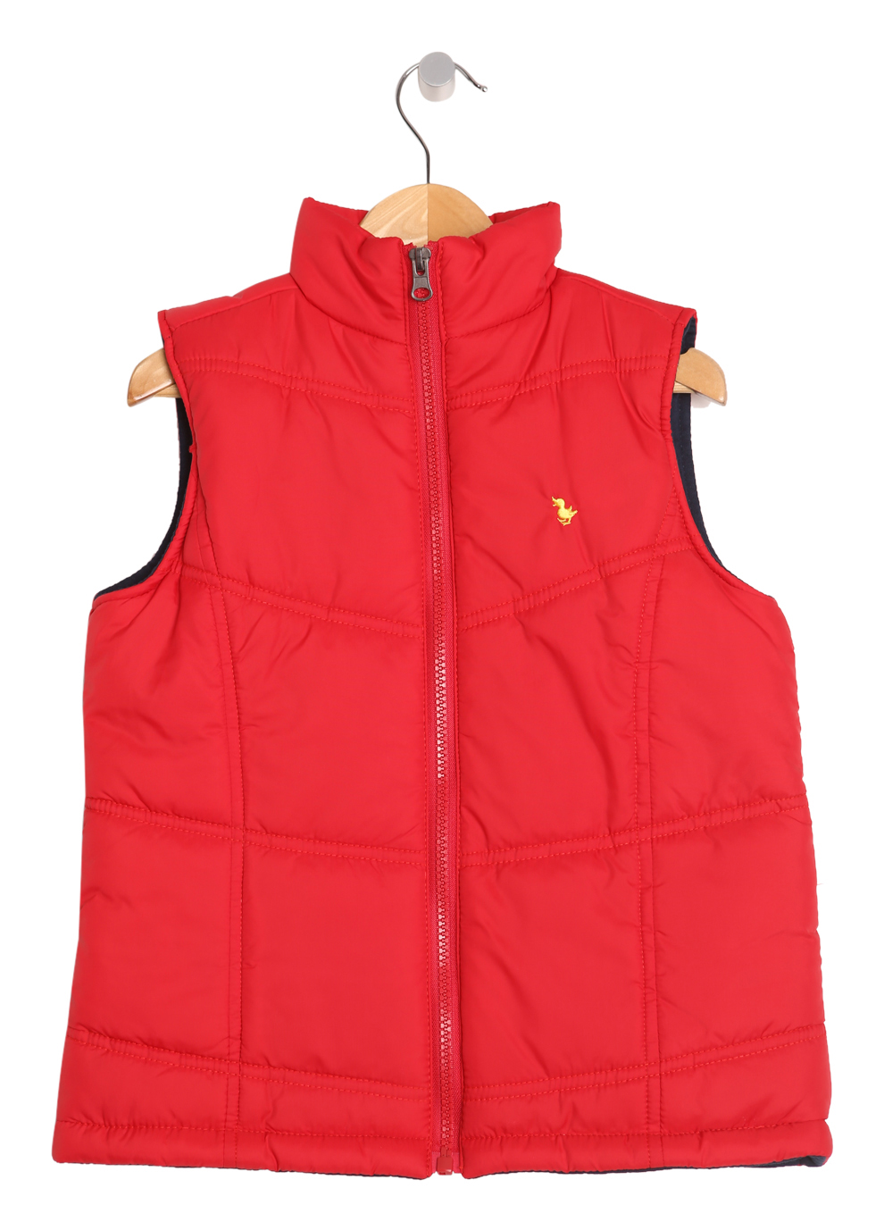 Red Sleeveless Jacket (Red Gilet)