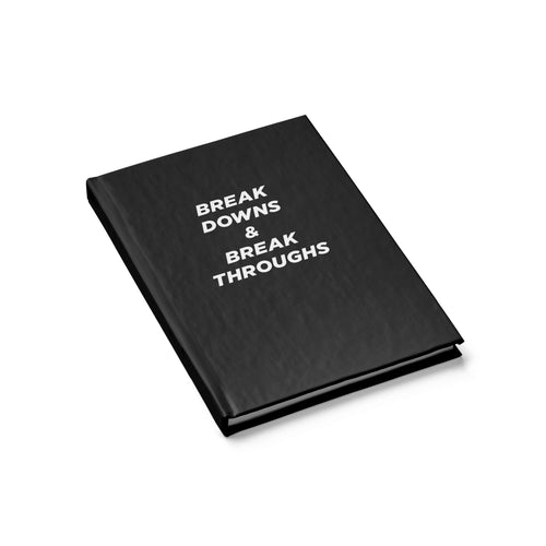 Breakdowns & breakthroughs — notebook