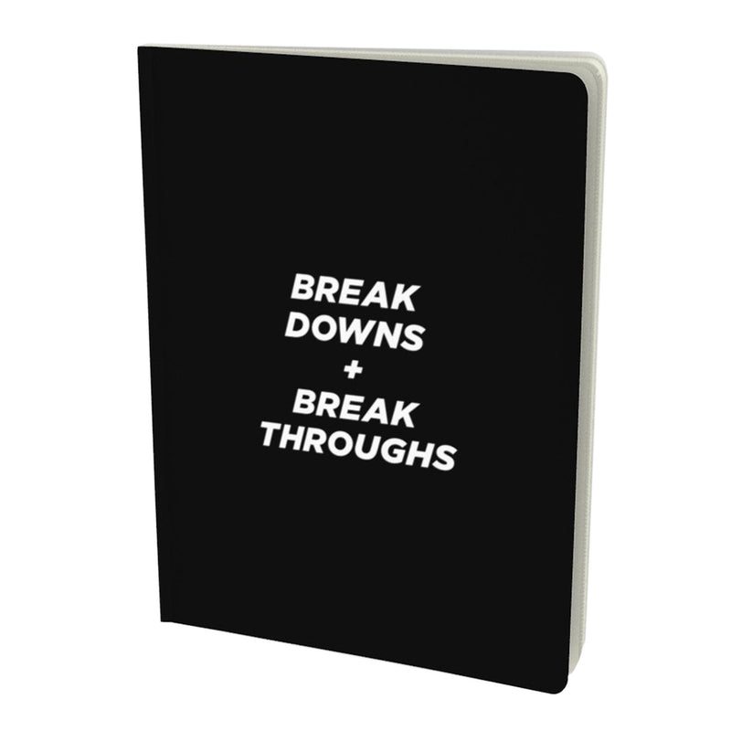 Breakdowns + throughs, notebook (7.5x10.25)