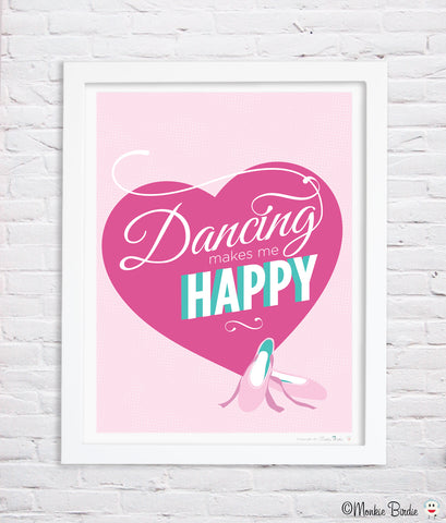 Dance Quote Nursery Art