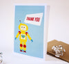 Robot Thank You- Set of 10