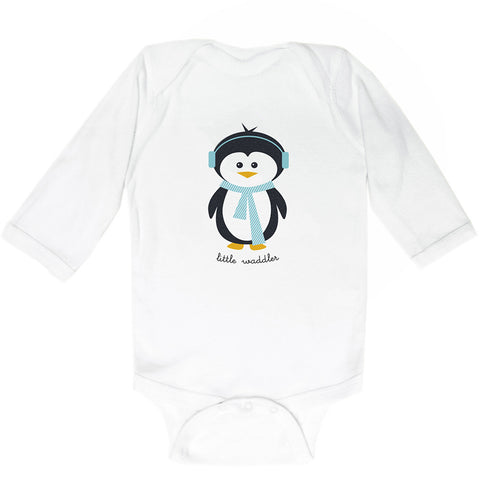 Penguin Bodysuit (Teal)