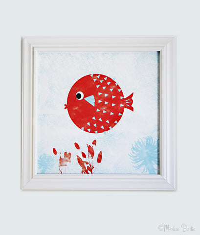 Fish Nursery Art Print