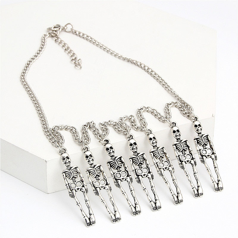 Skeleton Charm Necklace