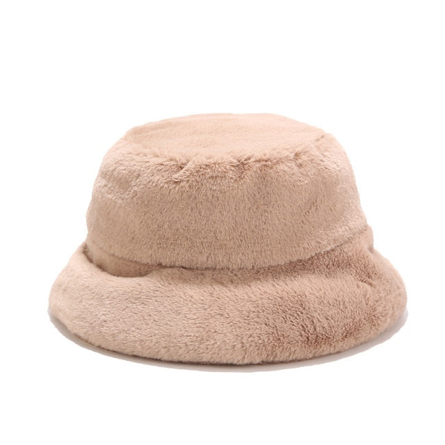 Fur Bucket Hat