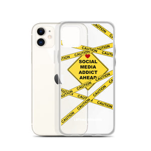 Addict Warning iPhone Case