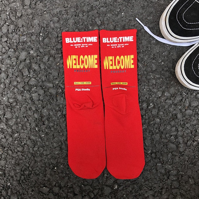 WELCOME Crew Socks