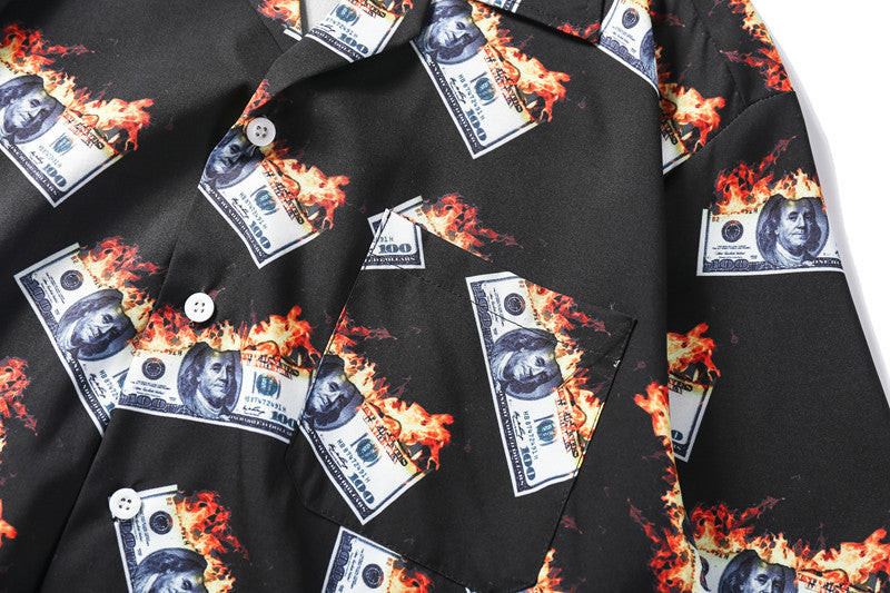 Flaming Bills Shirt