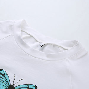 Papillon Crop Top