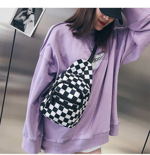 Checkered Sling Bag