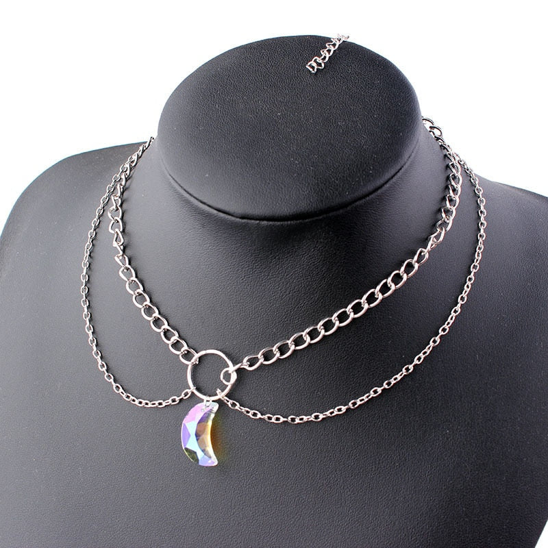 Moon Crystal Choker