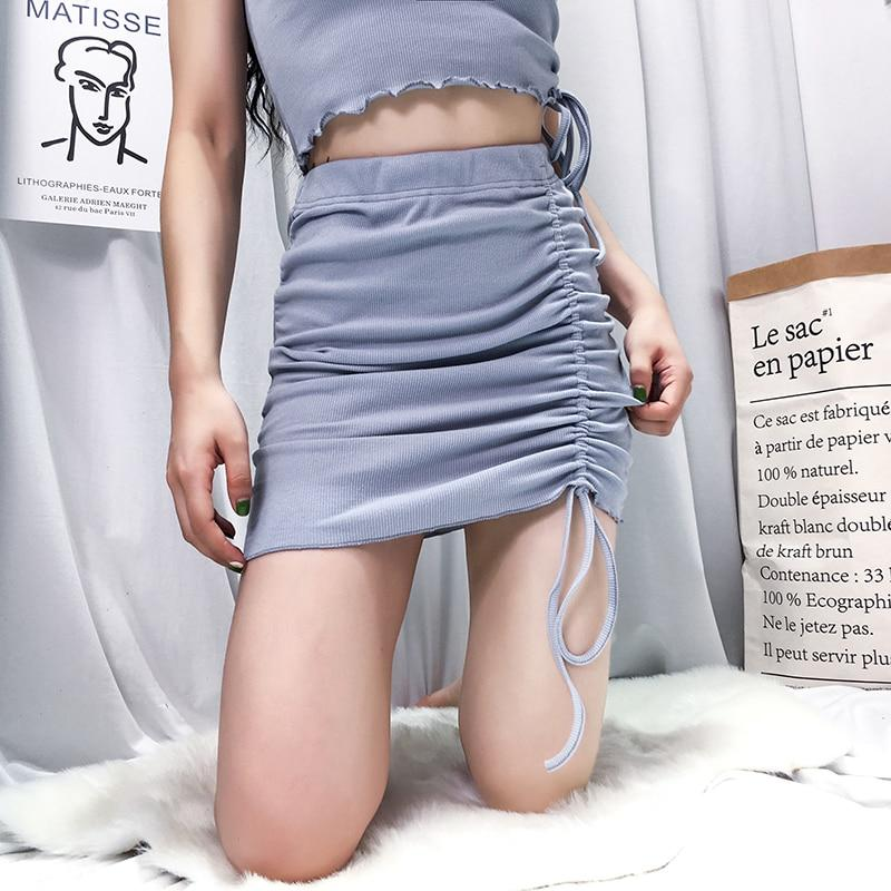 Hery Ruched Skirt - Lethal Dreams