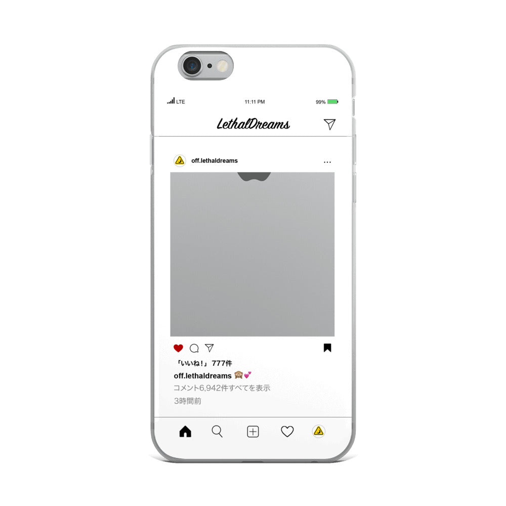 Social Media iPhone Case