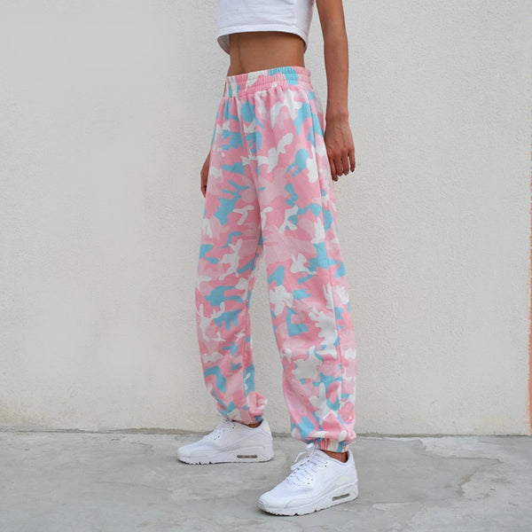 Lena Camo Sweatpants - Lethal Dreams