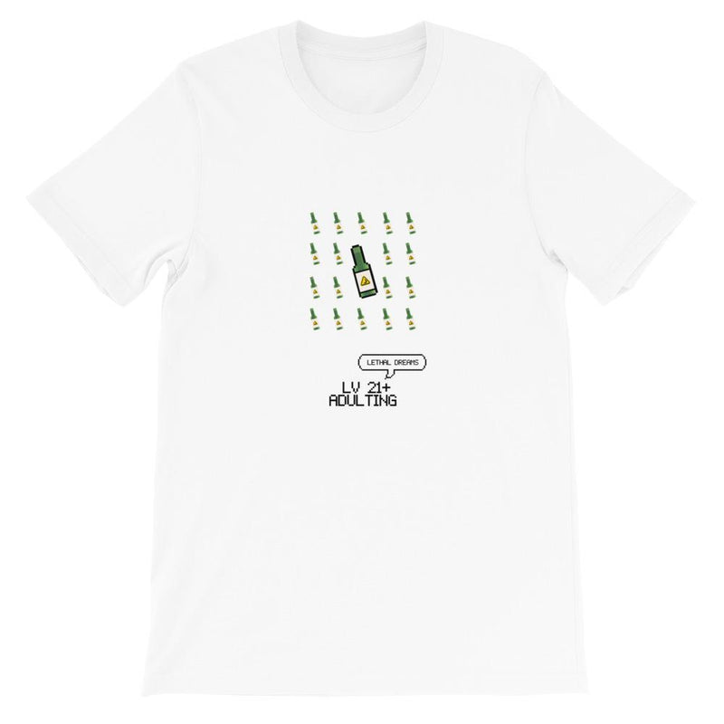 LV 21+ ADULTING Tee - Lethal Dreams