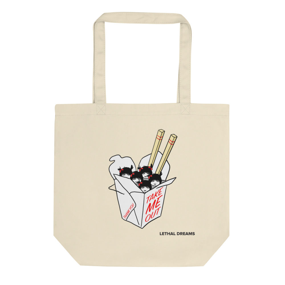 Take Me Out Tote Bag