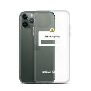 AMA iPhone Case